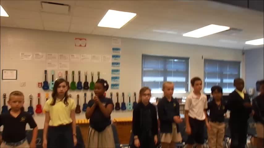 "17-18 Ms. Carter's 3rd grade class ""Spring is Finally Here"" by Kriske/DeLelles"