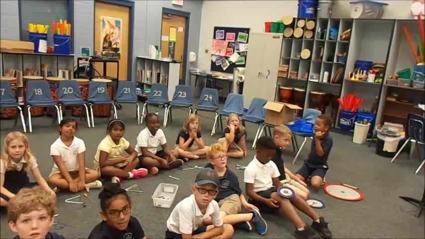 """17-18 Ms. Conrad's 1st grade class """"At the Zoo"""" by Eckroth-Riley"""
