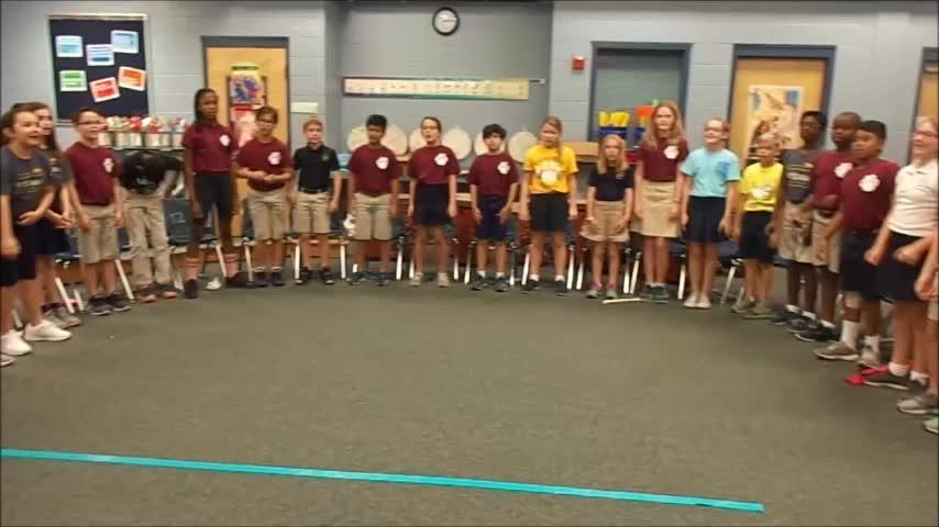 "17-18 Ms. Mickel's 4th grade class ""Pizza Hut"""
