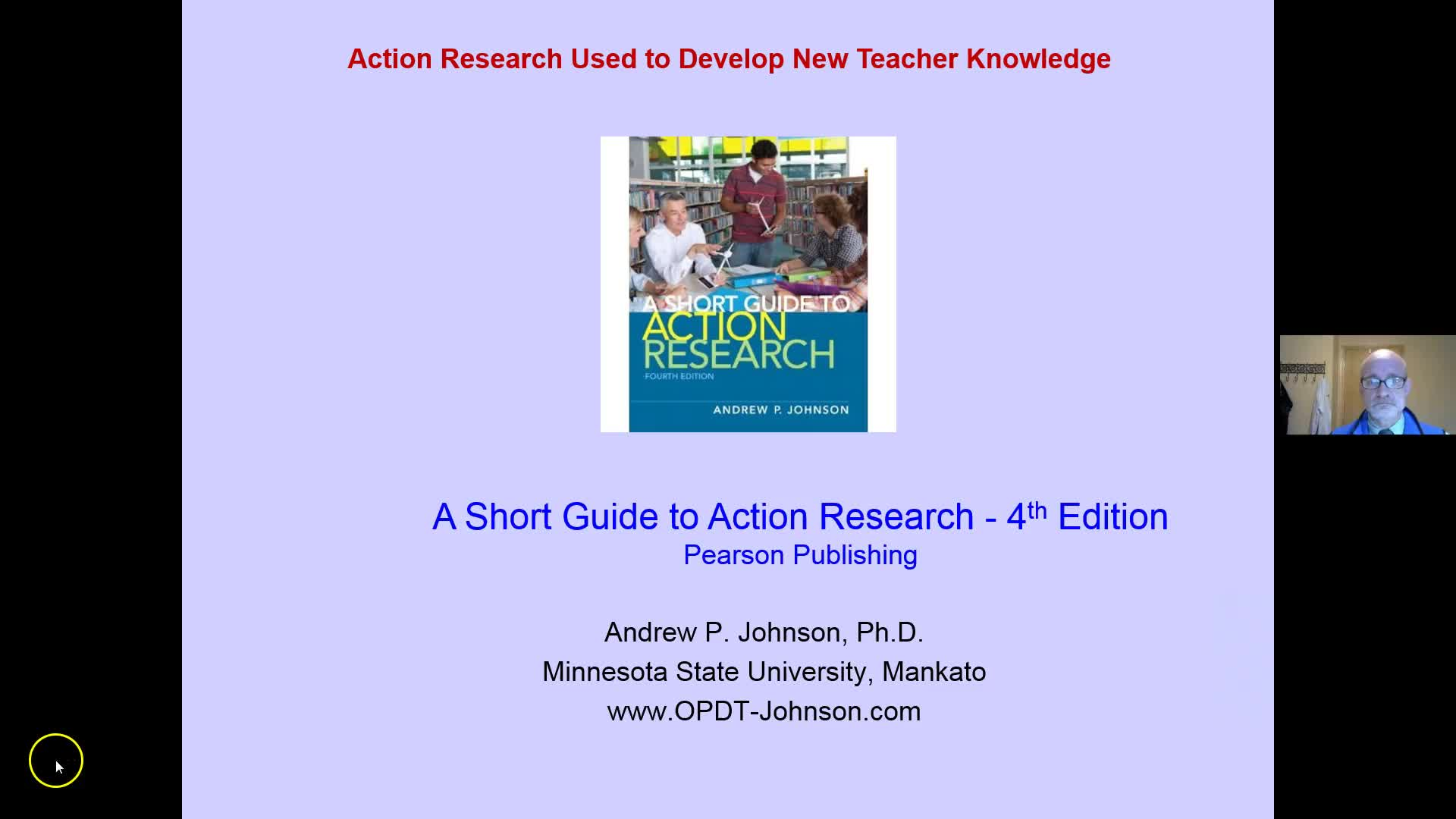 USING ACTION RESEARCH TO DEVELOP TEACHER KNOWLEDGE
