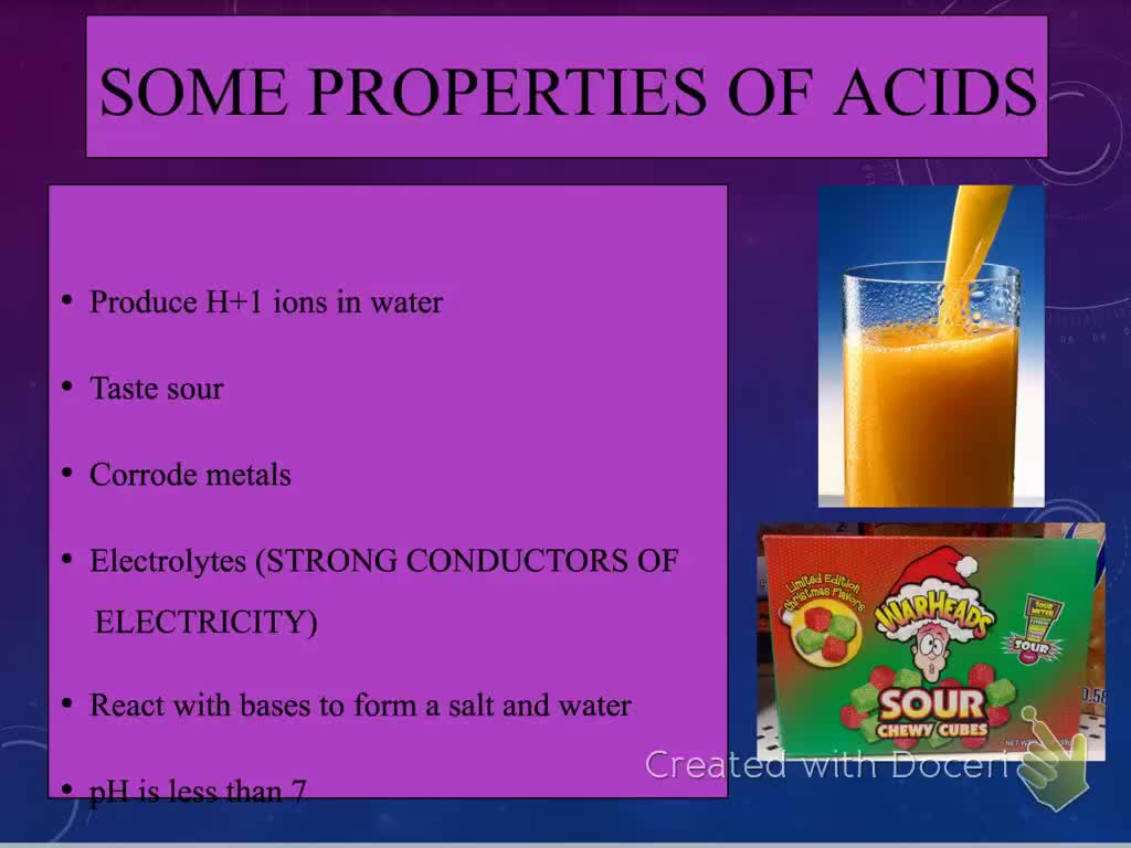 Acid Base Intro Video Lecture