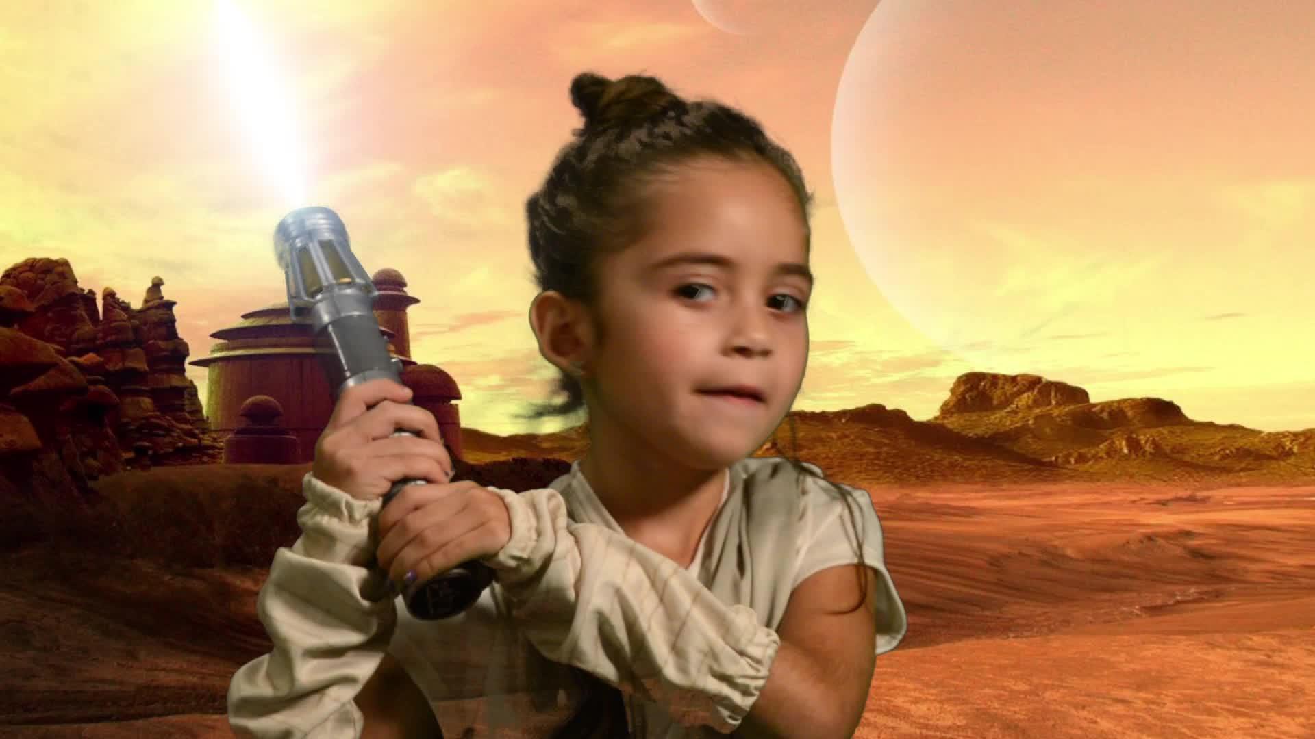 VEH The Young Rebel Star Wars Like Web Series