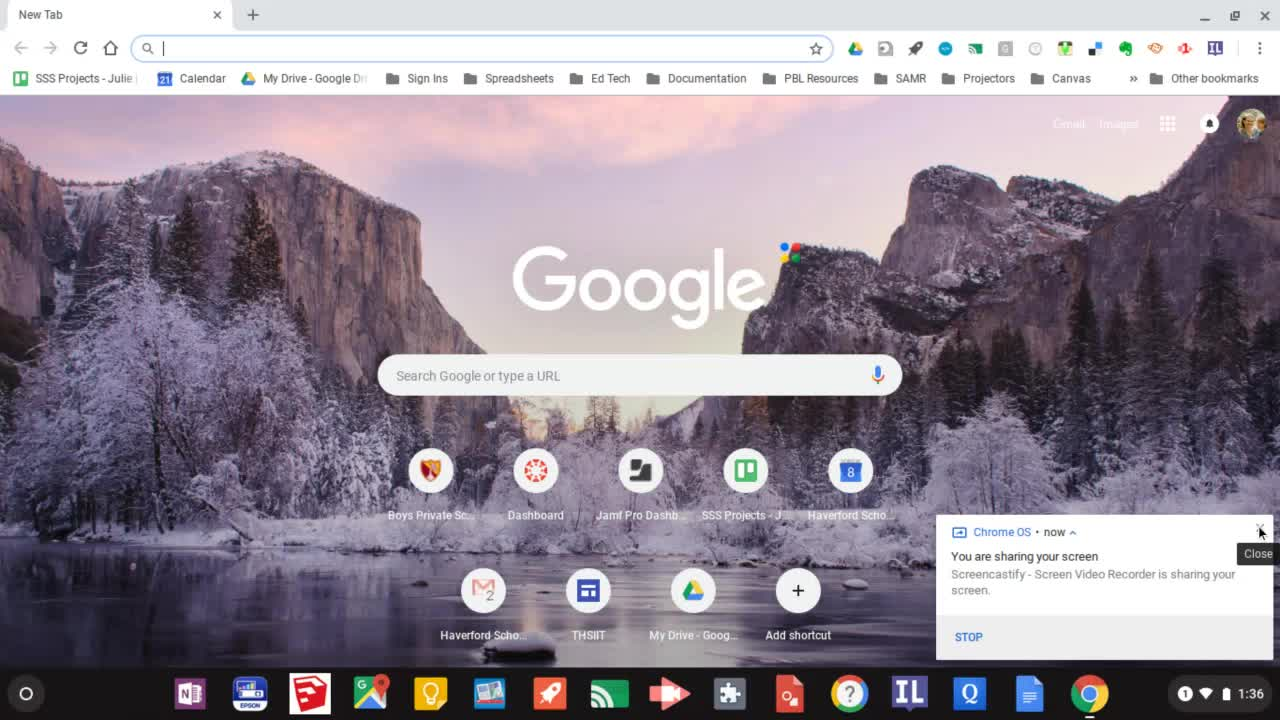 Changing Language/Input on Chromebook