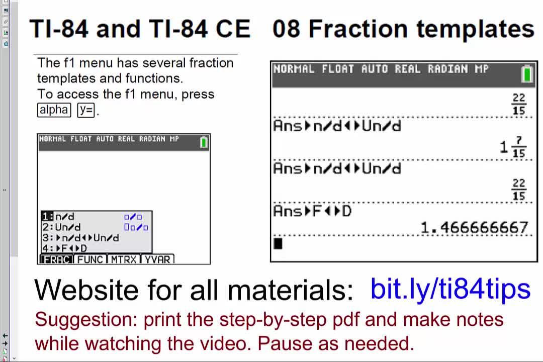 08_Fraction_Templates_TI84andTI84CE