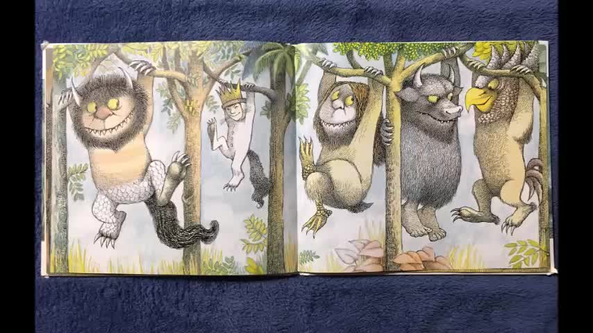 Read Aloud of Where the Wild Things Are in Spanish
