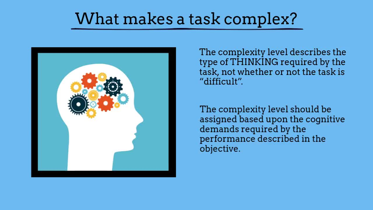 Module One Video Cog Complexity Course