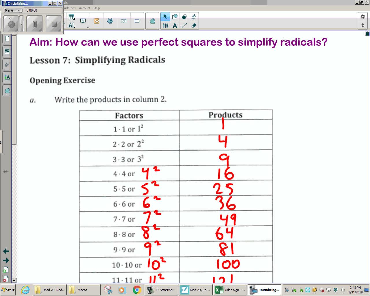 Module 2E Unit 6 Lesson 7