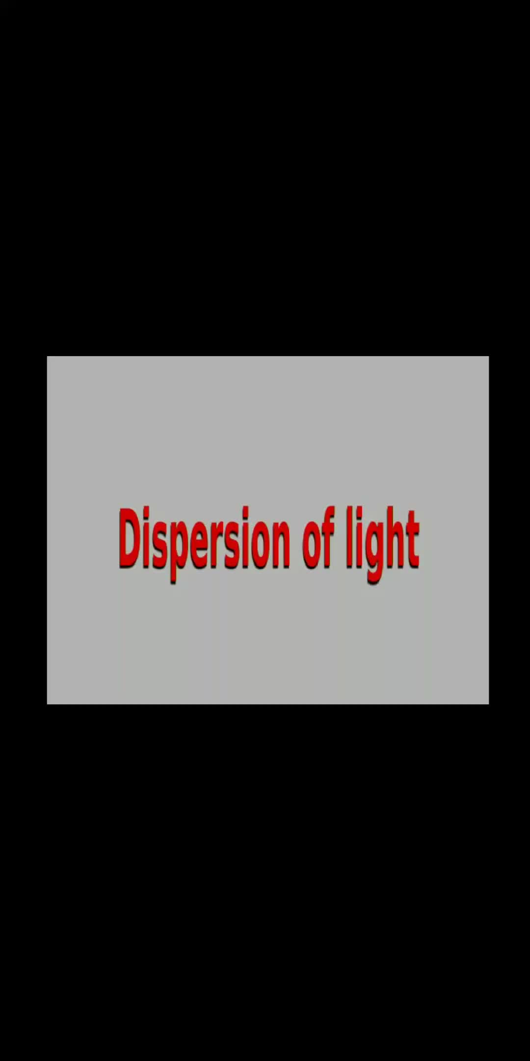 dispersion- amalnadh