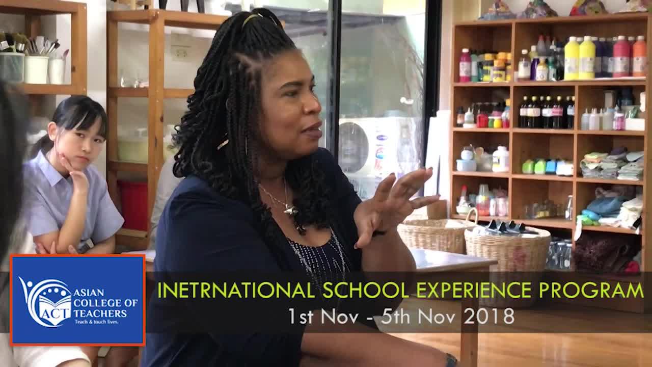 Pilot Batch of Teacher Training in Thailand - International School Experience Program
