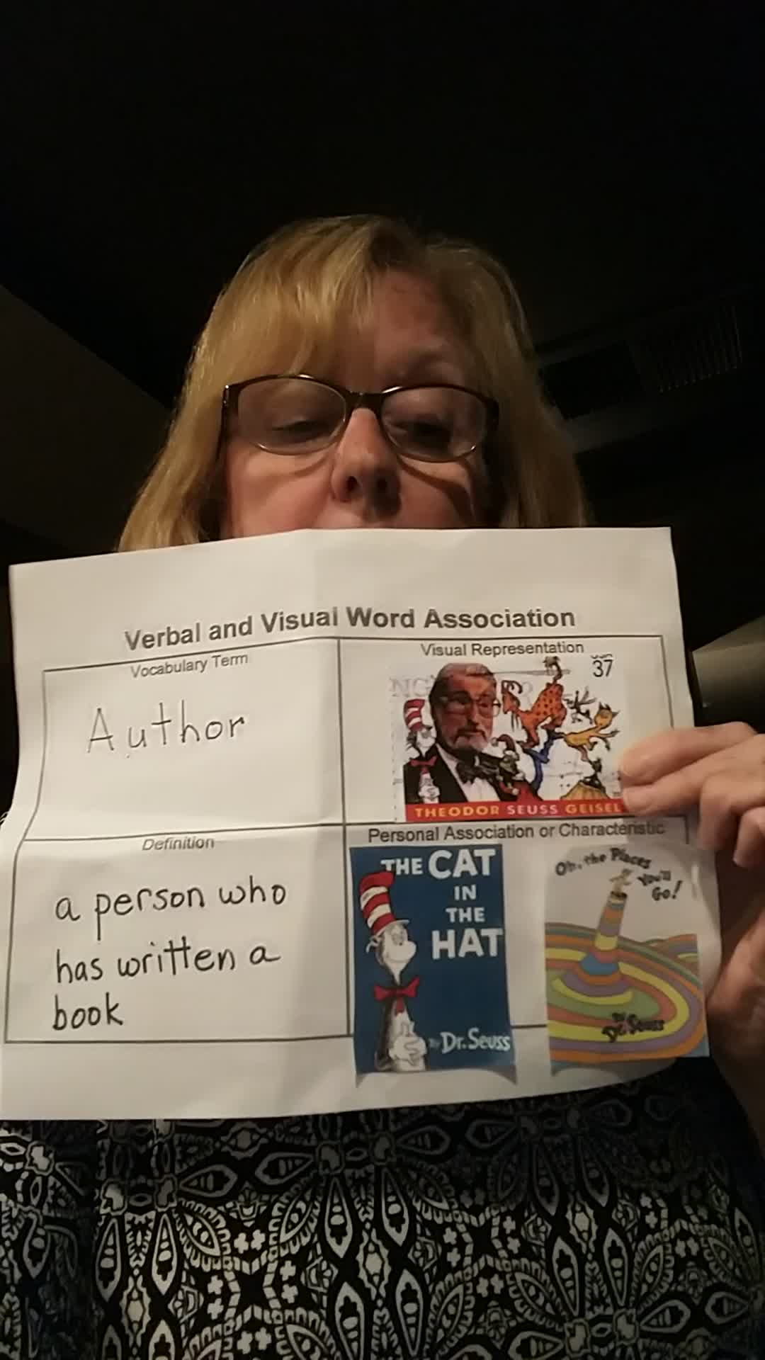 Vocabulary Video-Author