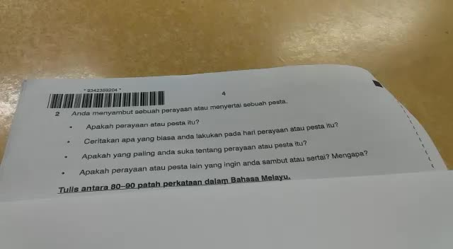 Ulasan kertas penulisan IGCSE kertas 4