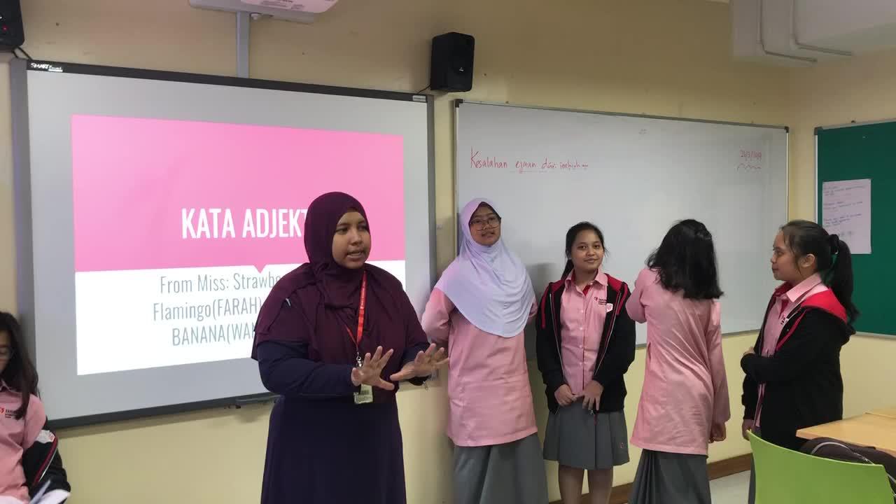 Kata Adjektif- teaching by student
