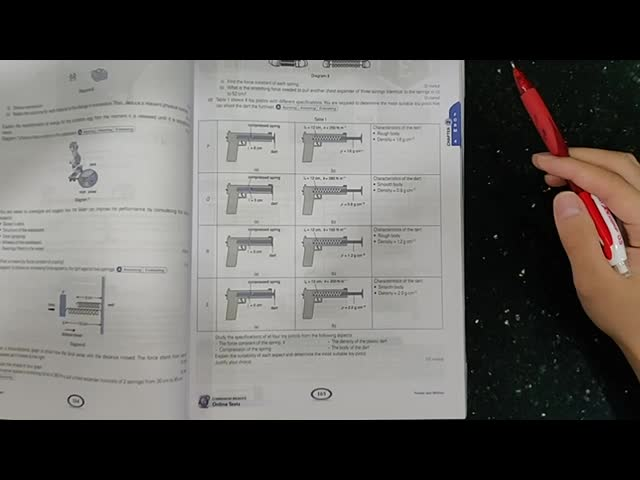 SPM Physics Paper 2 Section C Answering Technique