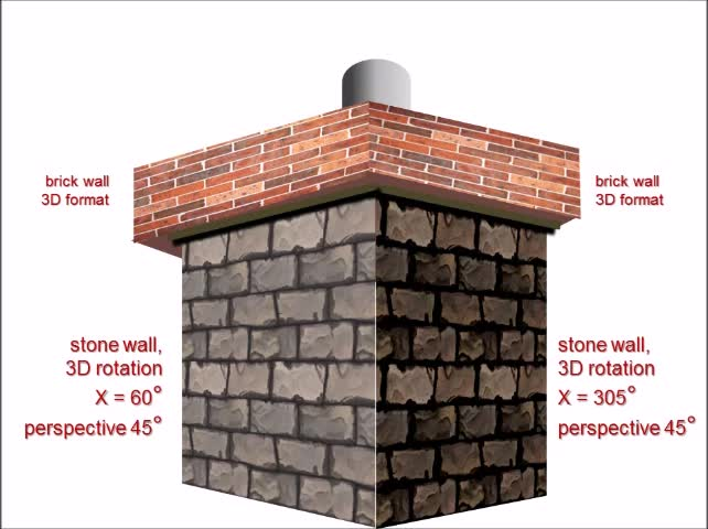 Build A Chimney Using PowerPoint   Inspiration   Drawings and Design Ideas  