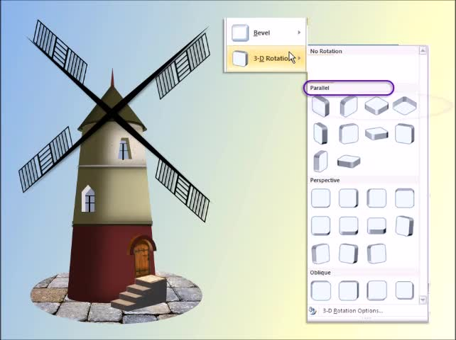 Create A Windmill Using PowerPoint | Windmill Structure & Design | Drawings and Design Ideas |