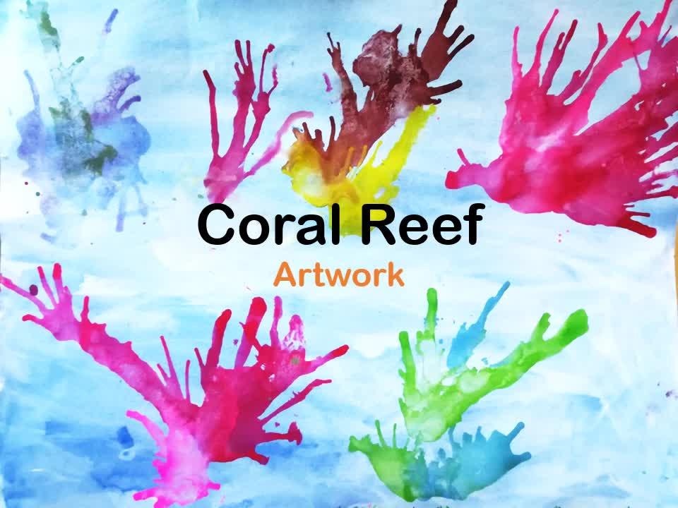 Coral Reef_ Interesting Art Activities