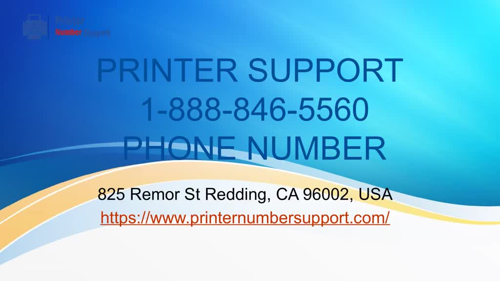 1-888-846-5560 | Printer Support Number USA