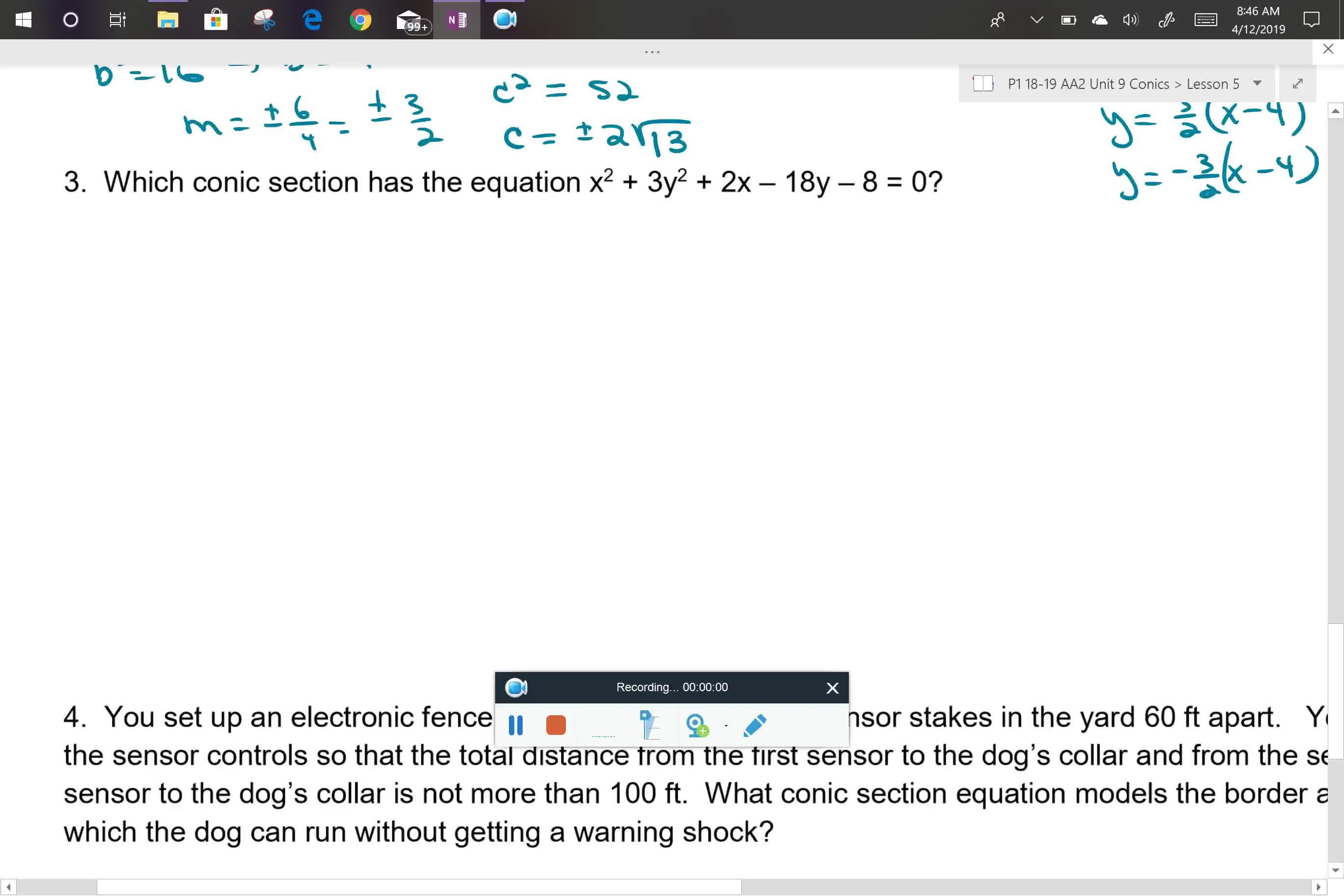 AA2 Period 1 U9L5 problem 3