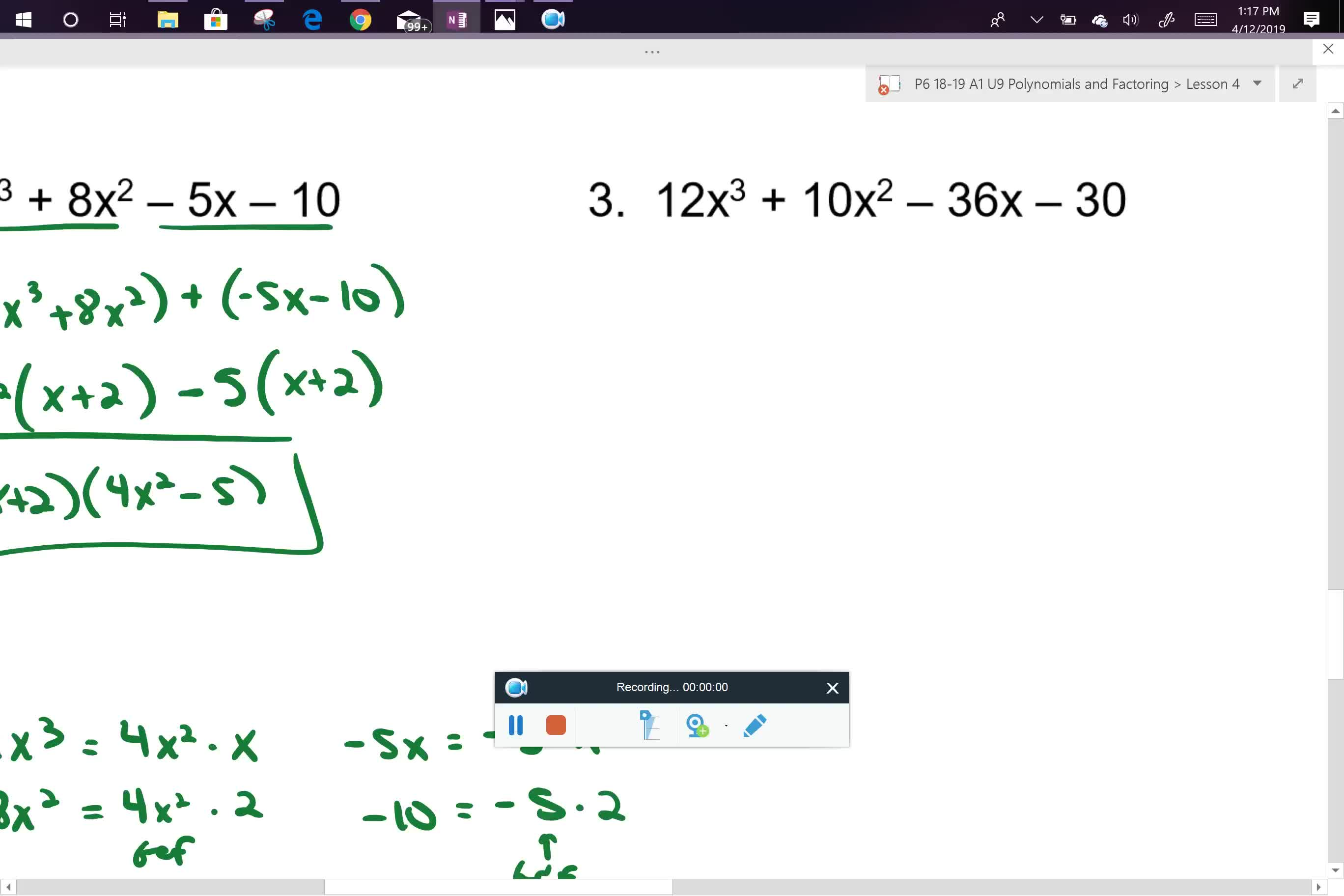 A1 U9L4 problem 3