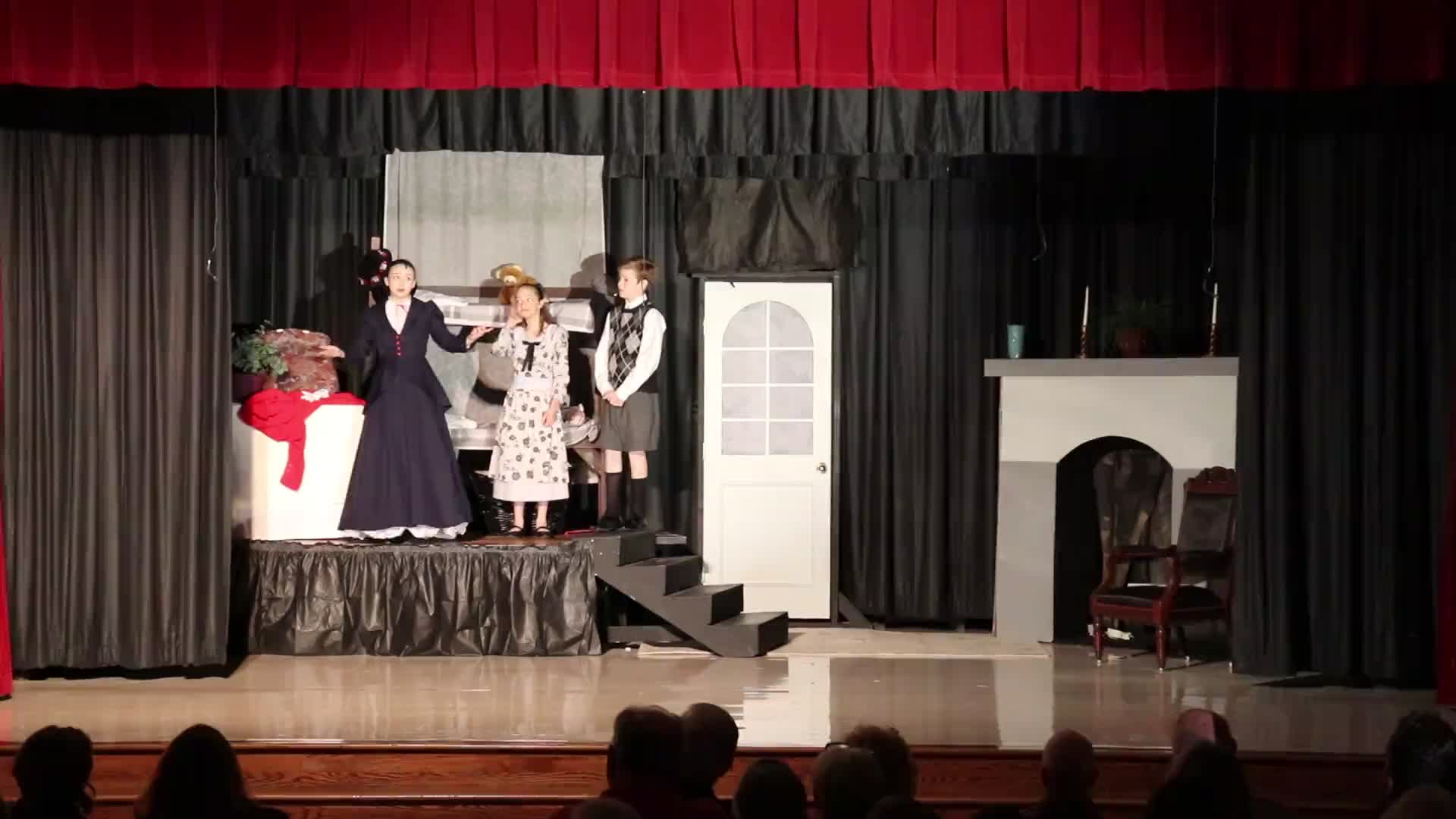 SPS Mary Poppins Jr. Friday Performance, Part 1 (2019)