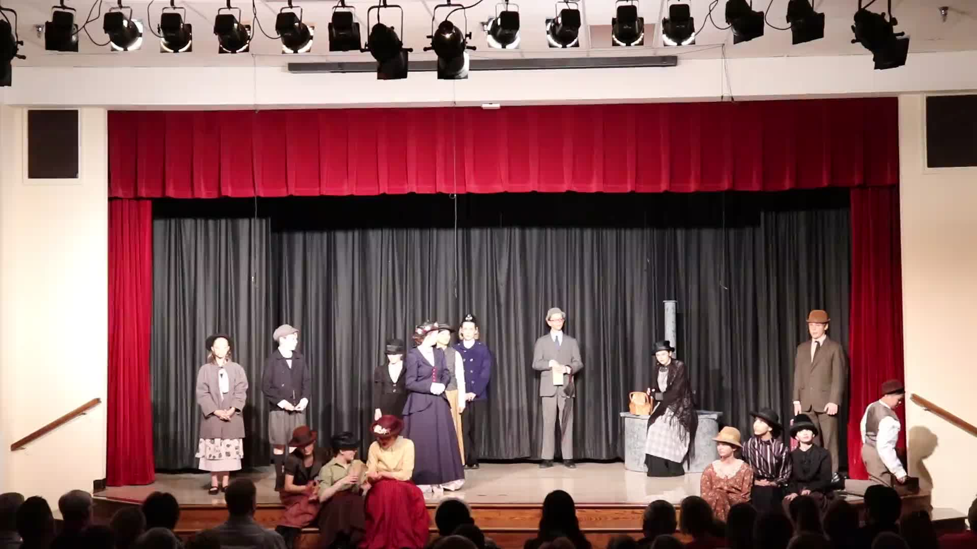 SPS Mary Poppins Jr. Friday Performance - Part 2 (2019)