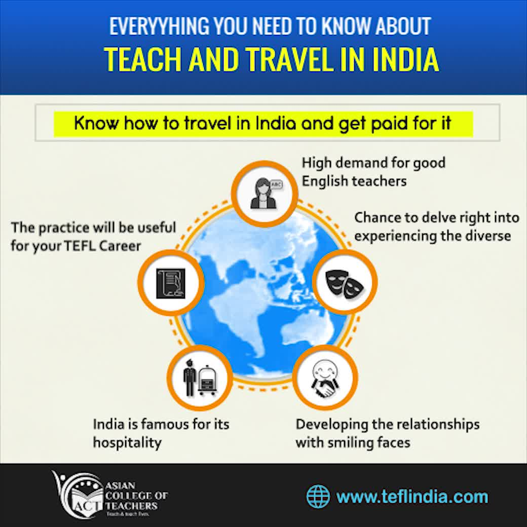 Everything You Need To Know About Teach and Travel in India