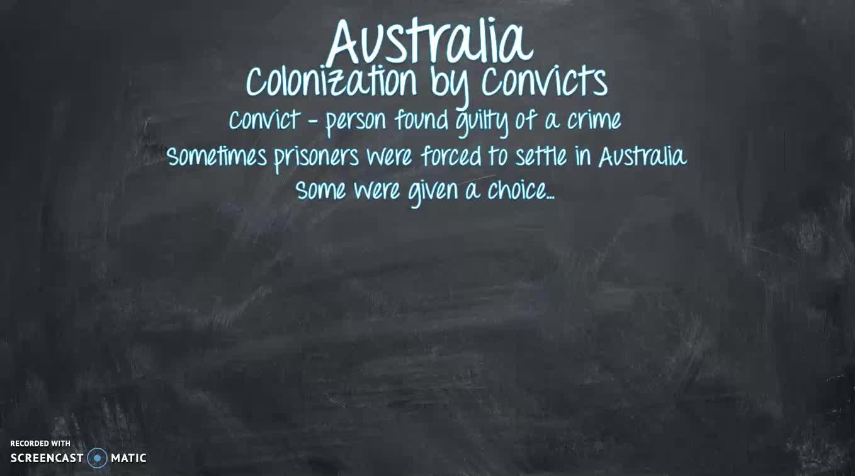 MBeran Australia Colonization