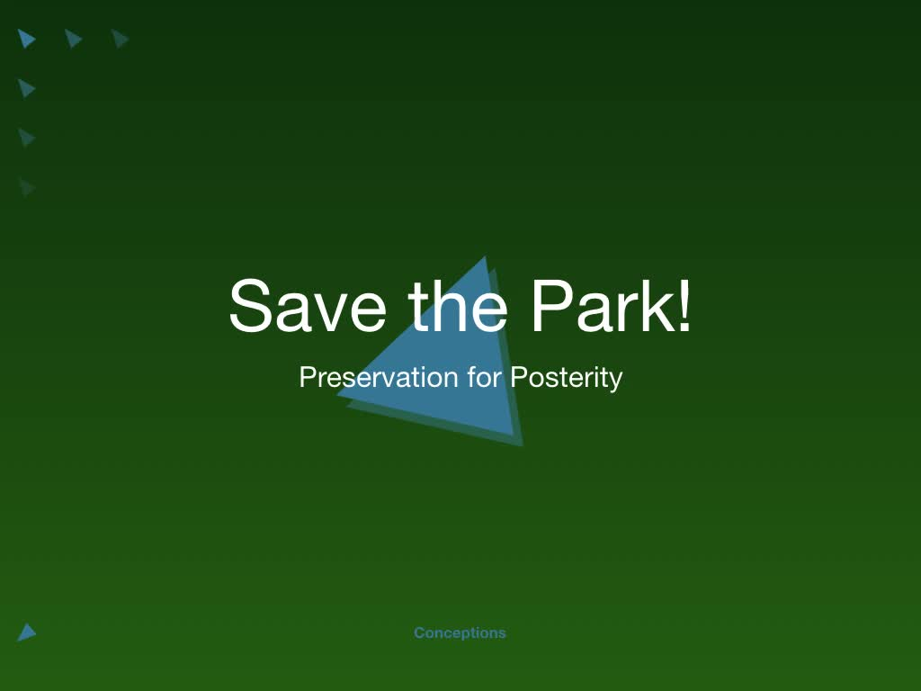 Save the Park!