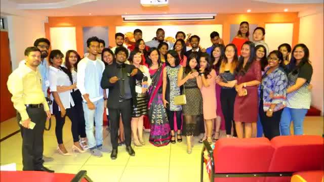 CMR University Farewell celebration