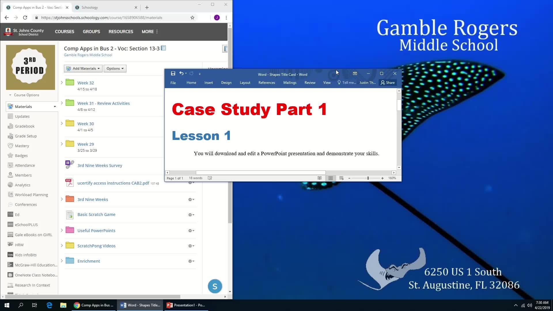 MultiMedia Essentials - Case Study 1 part1