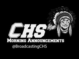 CHS Announcements