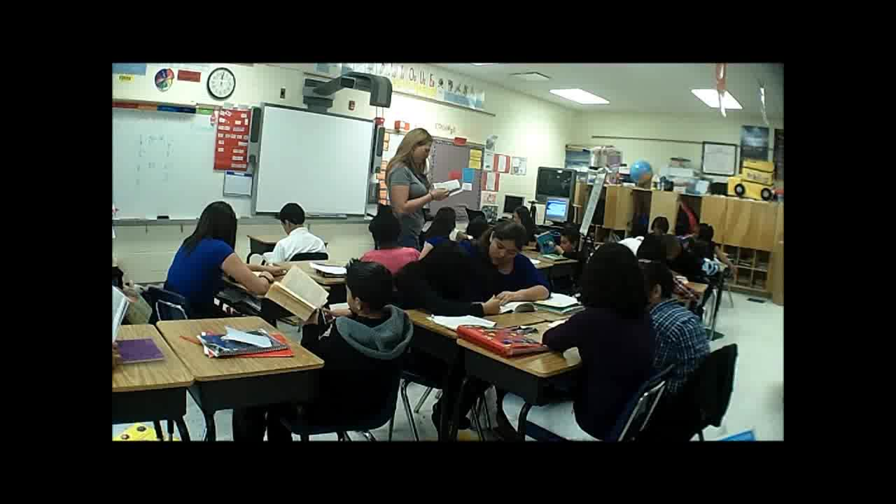 5th Grade Language Arts - Qualifying 2