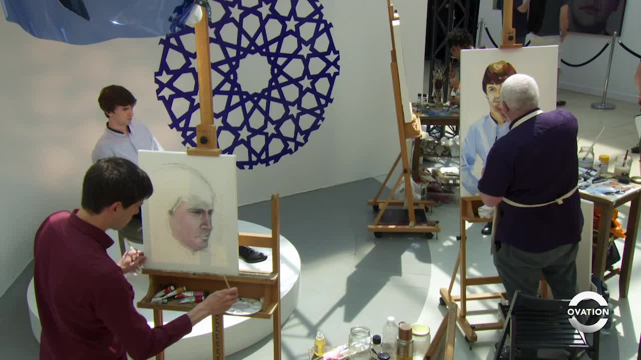 Portrait Artist of the Year Season Three Part One-Clip 6