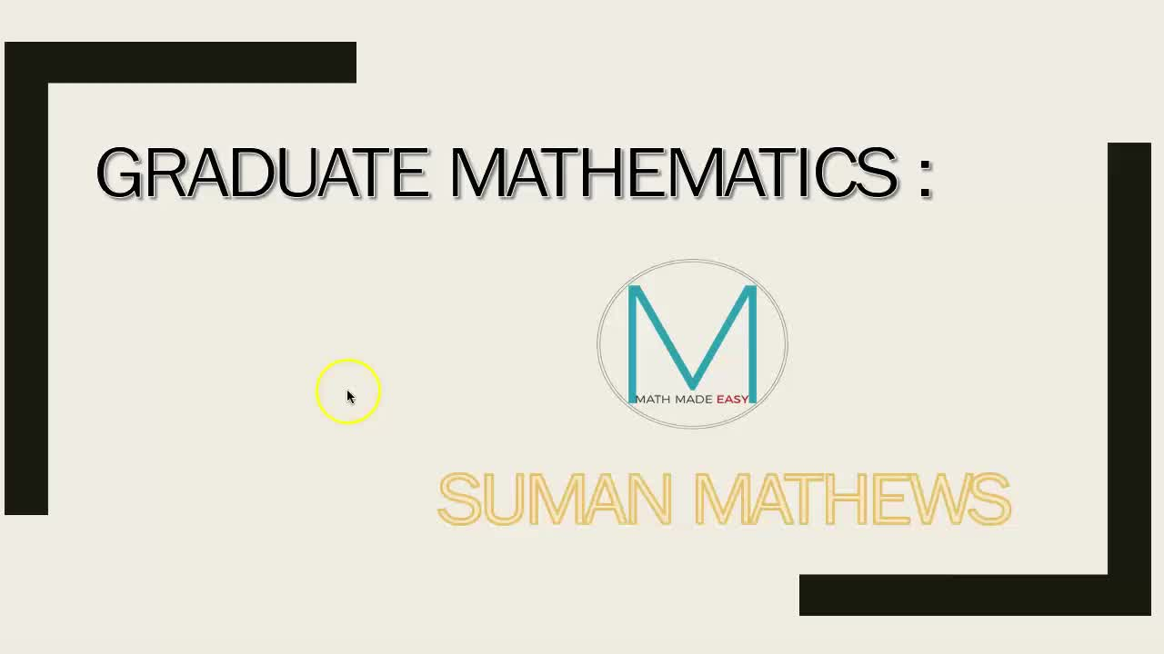 GRADUATE MATHS (LINEAR DIFFERENTIAL EQUATIONS WITH VARIABLE COEFFICIENTS)