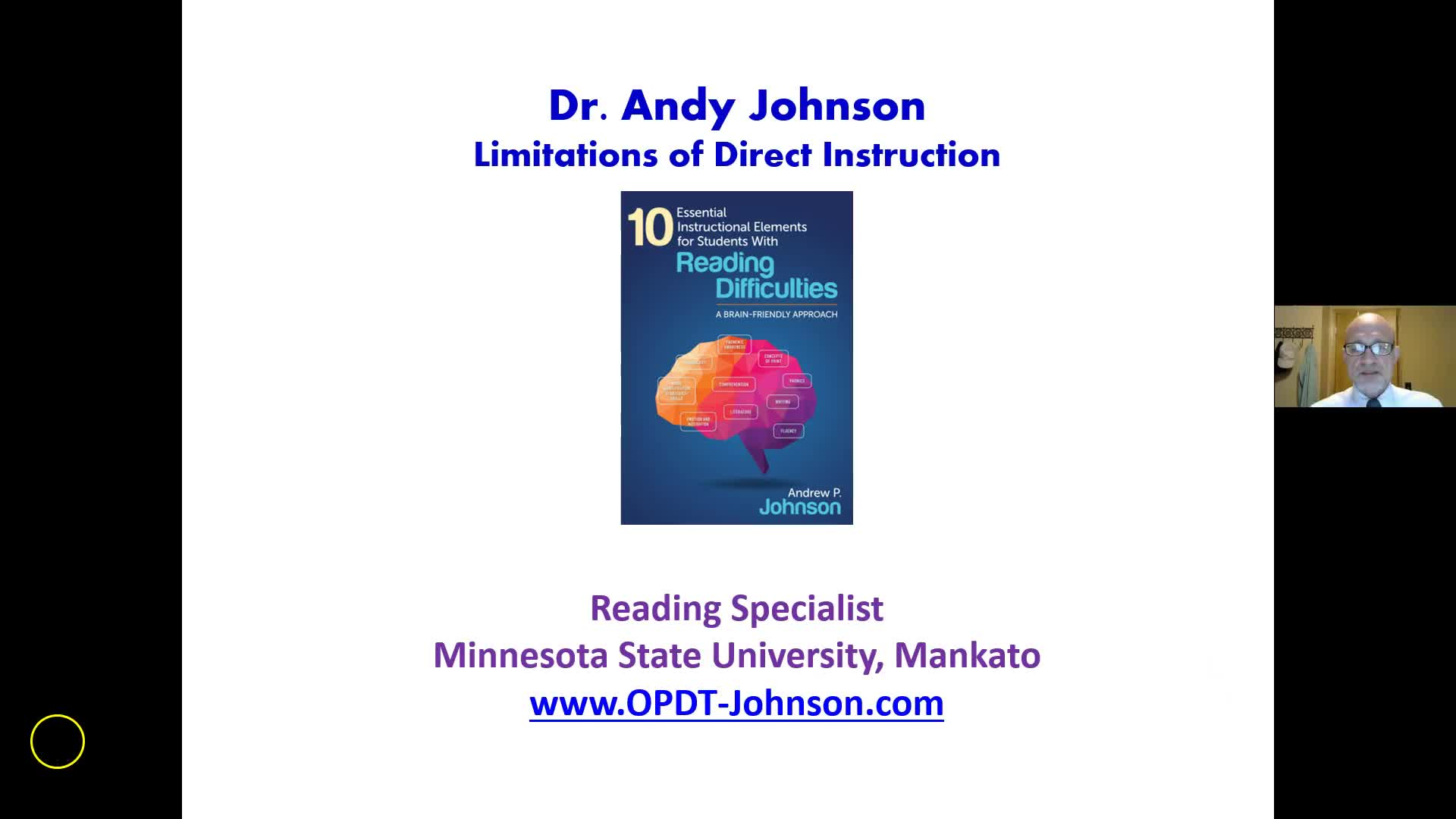 Limitations of Direct Instruction for Teaching Reading