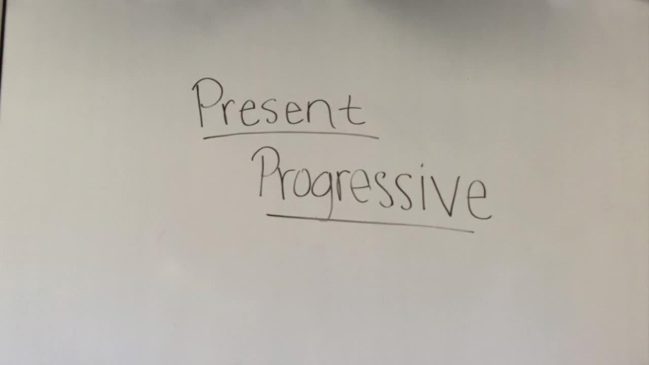 Presente Continuo Español