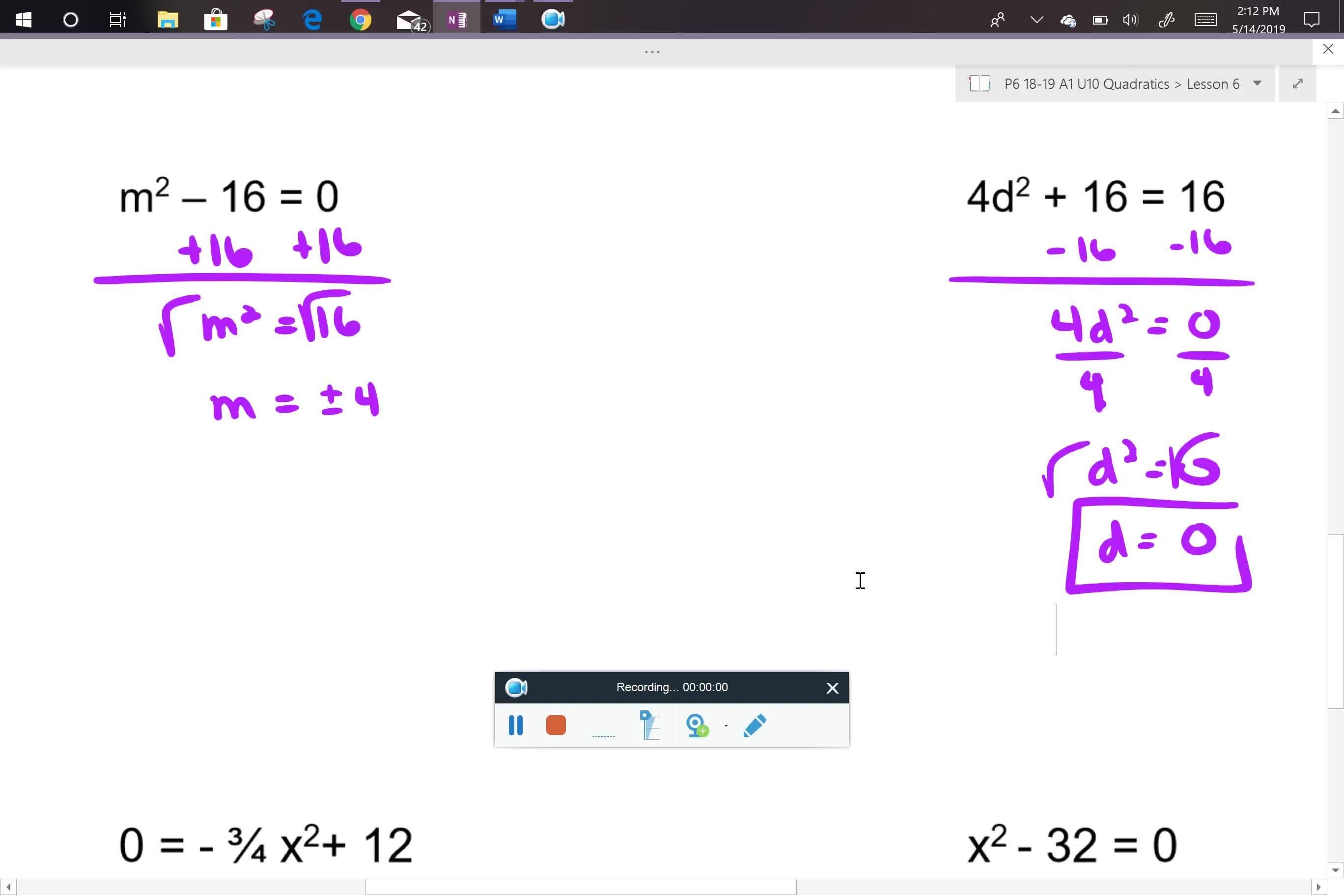 A1 U10L6 notes part 2