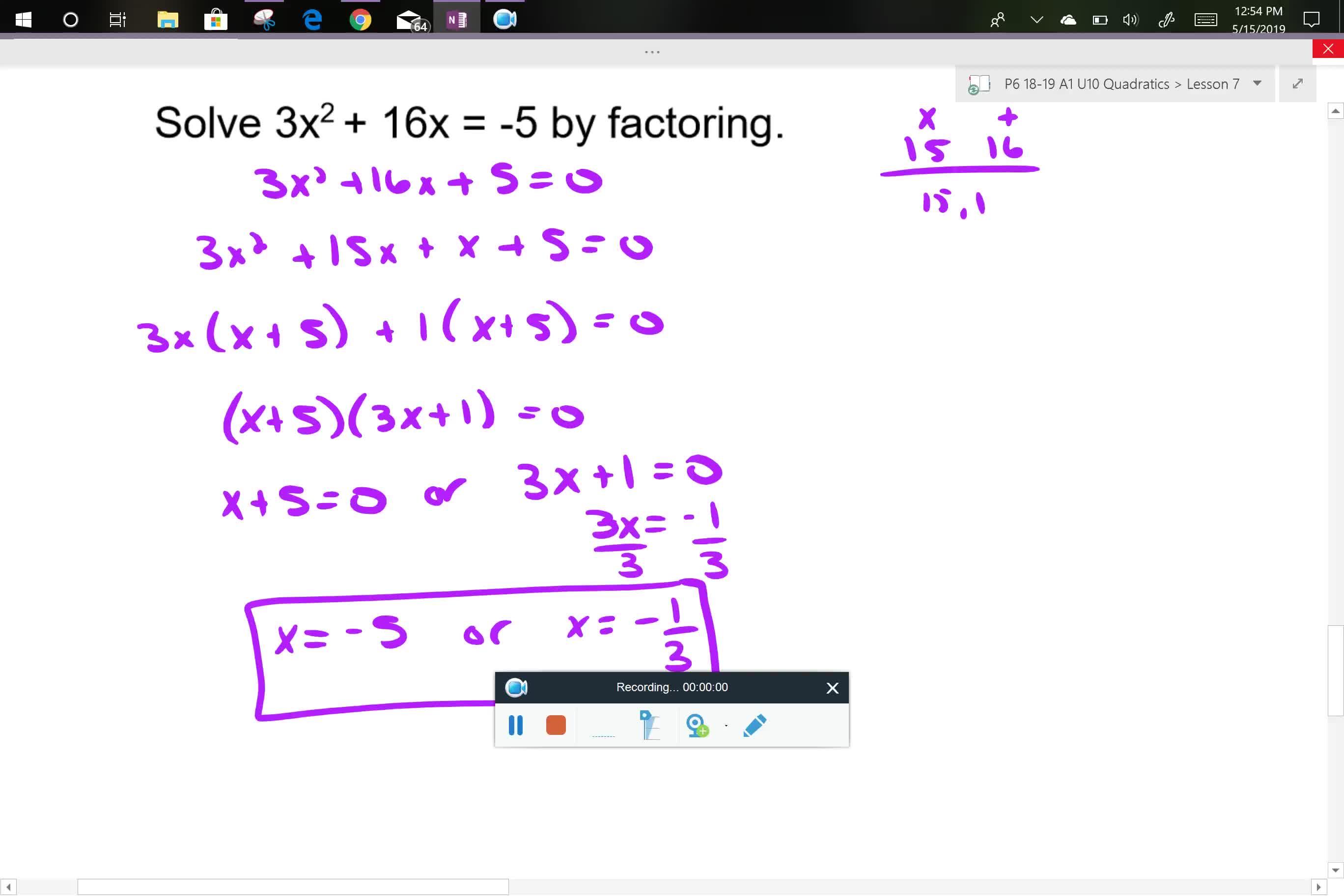A1 U10L7 notes part 3