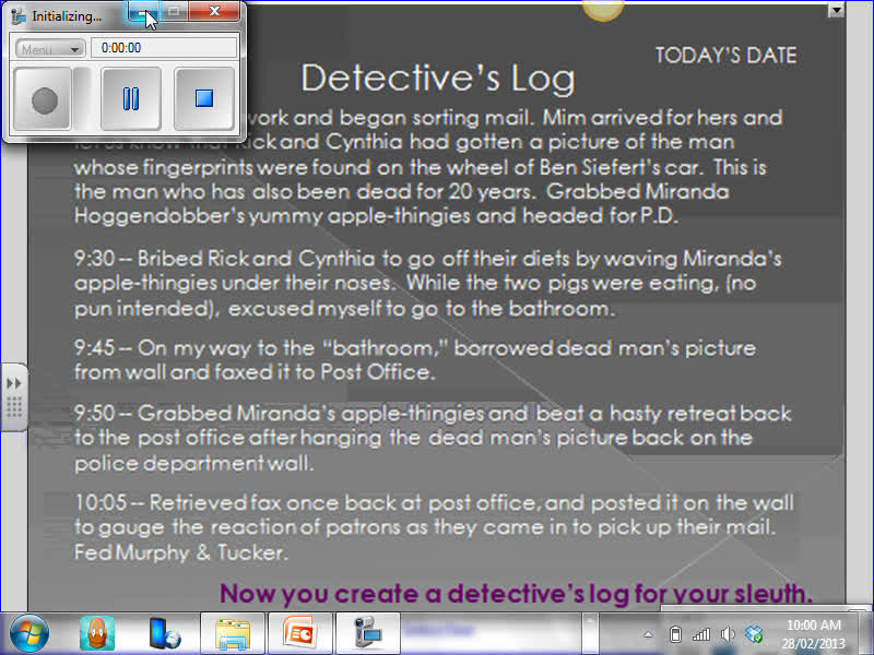 Detective Handbook PP Lesson 5 - Smart Notebook