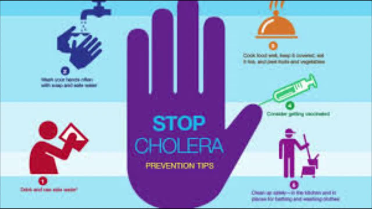 Public Service Annoucement: Cholera Prevention Tips