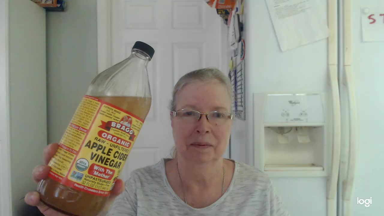 For Teachers Only:  Quick-Pick-Me-Up Drink Using Apple Cider Vinegar