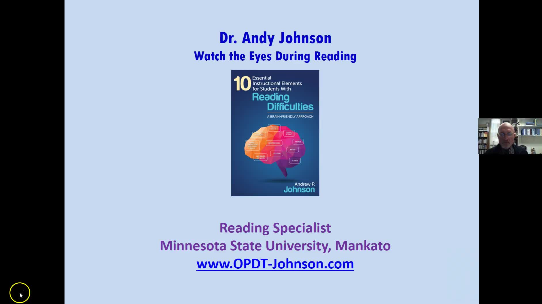 DATA-BASED DECISION-MAKING: WATCH THE EYES OF STRUGGLING READERS