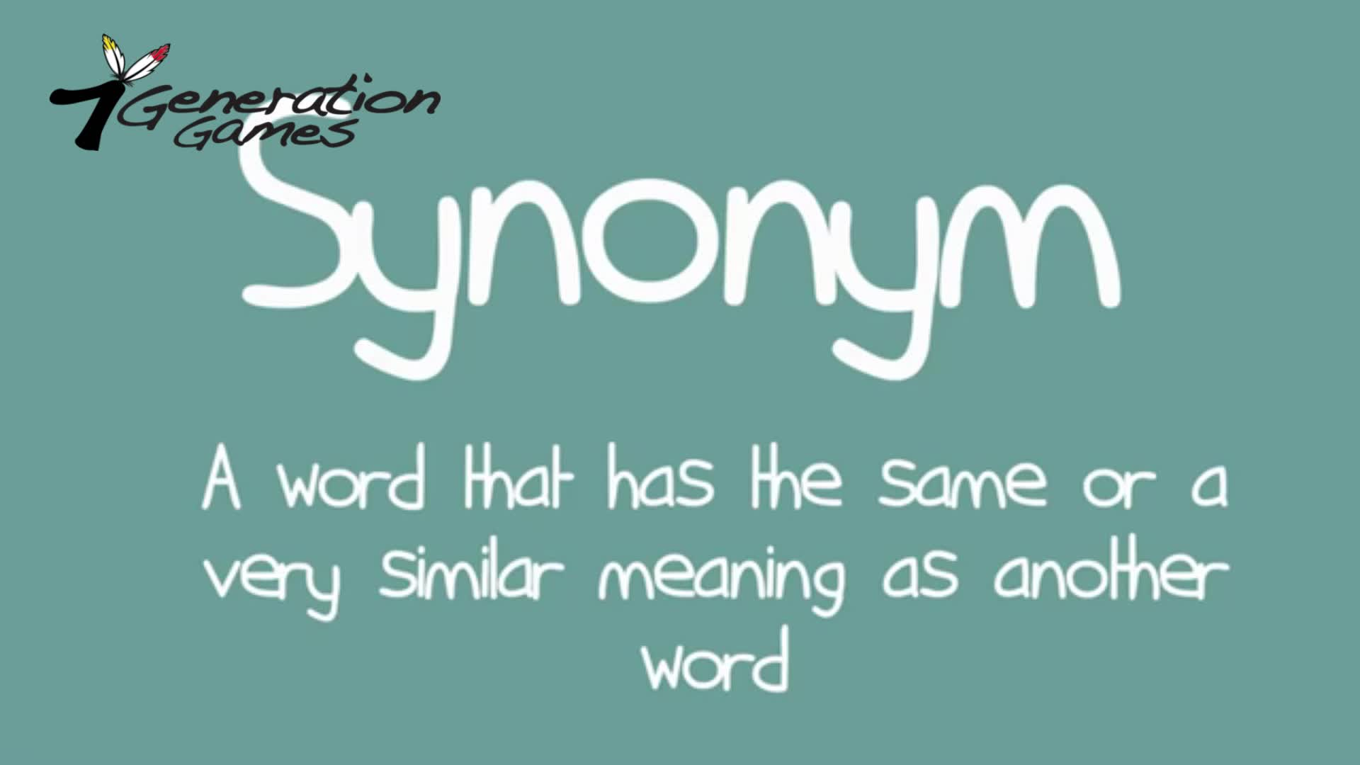 What's a synonym?