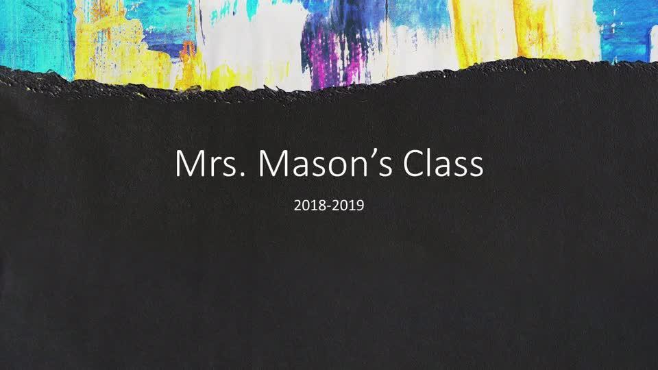 Mason Kindergarten Music
