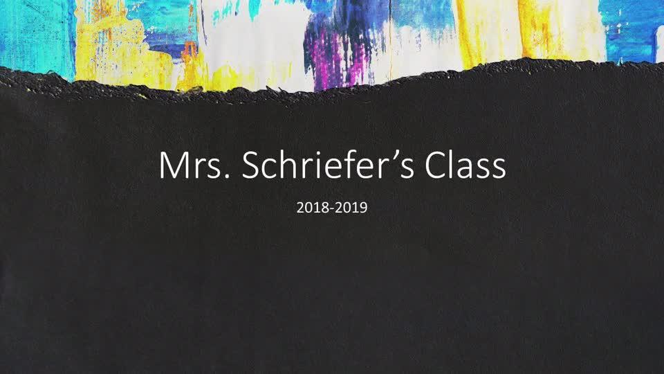 Schriefer Kindergarten Music