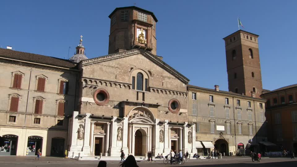 Il ciborio di Giovanni Menada nella Cattedrale di Reggio Emilia