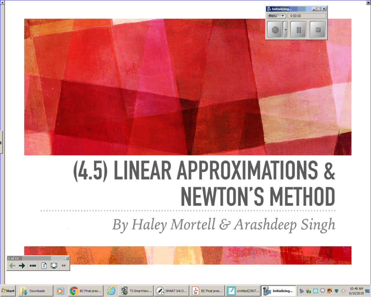 Linearization and Newton's Method