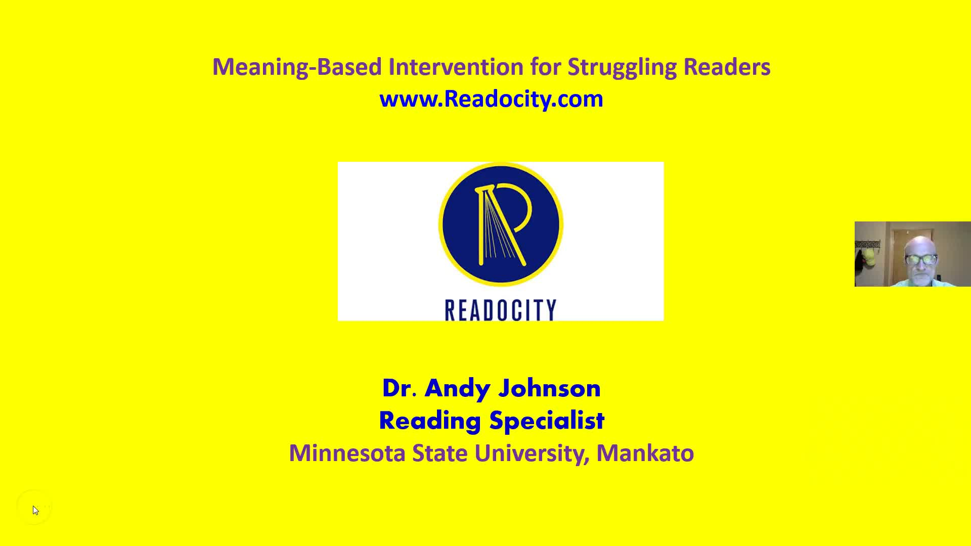 WHAT IS A MEANING-BASED INTERVENTION FOR READING?