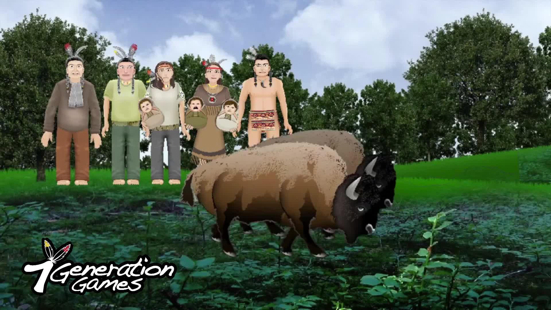 Buffalo Hunting Word Problem
