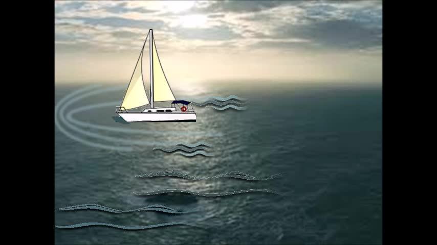"""Boat at Sea"" Animation Using PowerPoint 
